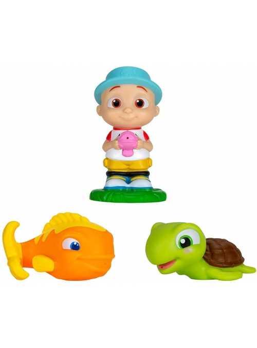 Cocomelon - set 3 hračiek do vane Baby Fish