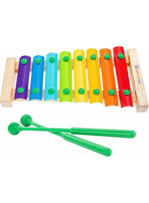 Cocomelon - xylofón pre najmenších s paličkami