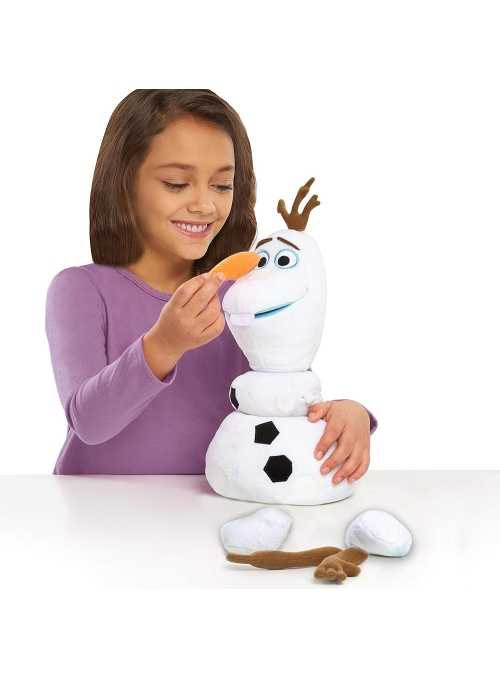 Olaf Frozen 2 - zábavný rozprávajúci a skladací snehuliak Olaf