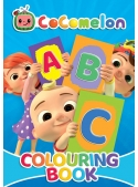 Cocomelon - ABC - veľká kniha omaľovánok s výučbou písmen