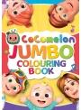 Cocomelon - JUMBO veľká kniha omaľovánok JJ, rodina a kamaráti