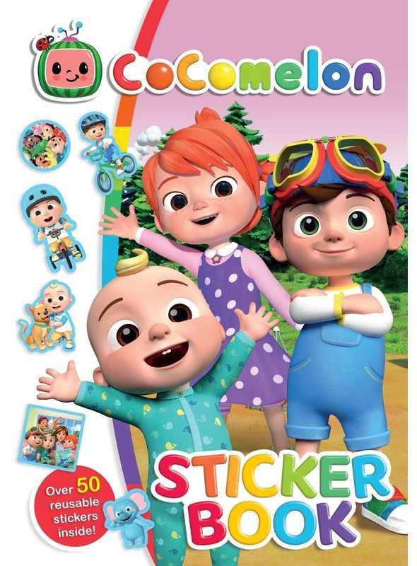 Cocomelon - kniha plná nálepiek