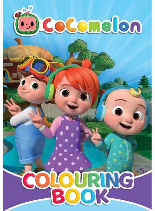 Cocomelon - veľká kniha omaľovánok JJ a kamaráti