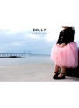 ROMANTIC LONG TUTU pink + black