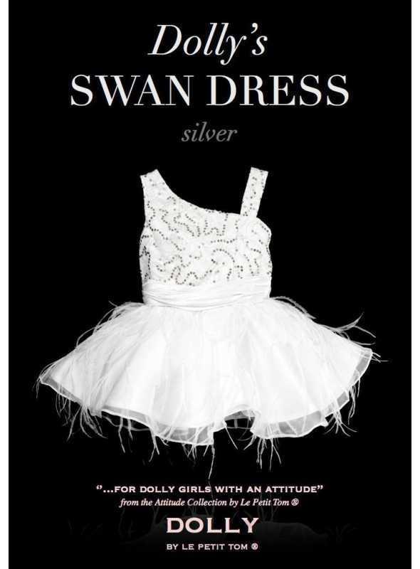 THE SWAN DRESS silver