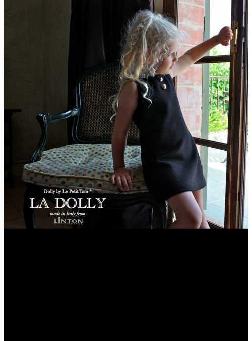 LA DOLLY little black dress from LINTON TWEED - black