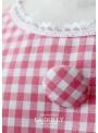 "LA DOLLY ""BB baby šaty"" –růžové kárované"