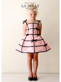 "LA DOLLY ""dress mannequin"" -pink/black"