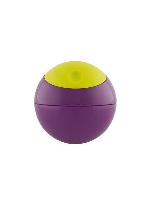SNACK BALL – loptička na uskladnenie potravín, farba fialovo-zelená