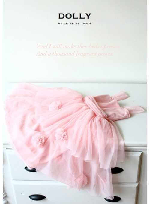 ROSE GARDEN DRESS rosepink