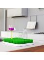 STEM - doplnkový sušiak na trávu/záhon - aqua modrý kvet