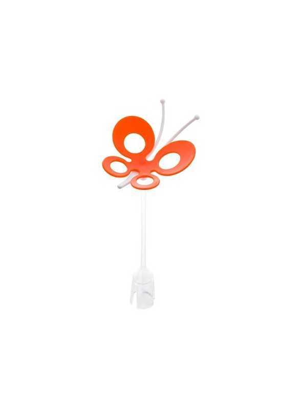 FLY - doplnkový sušiak na trávu/záhon - oranžový motýlik