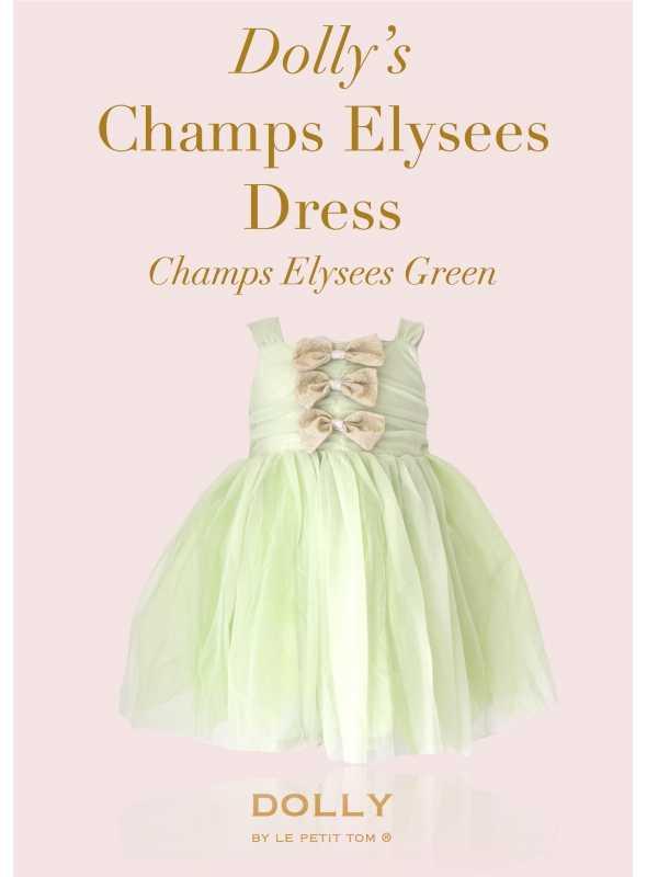DOLLY šaty Champs Élyseés – mentolová zelená