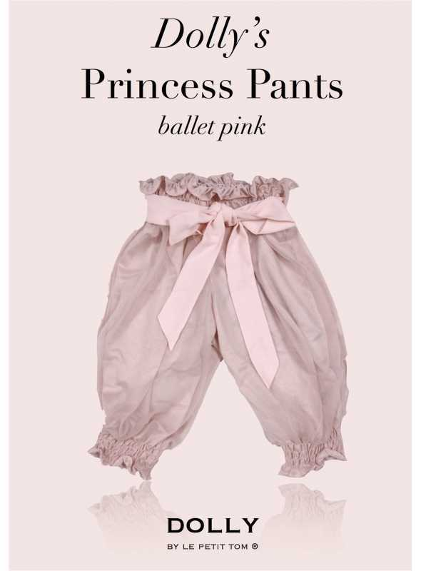 DOLLY princezničkovské nohavice – baletná ružová