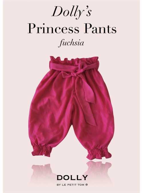 DOLLY princezničkovské nohavice – fuchsiové