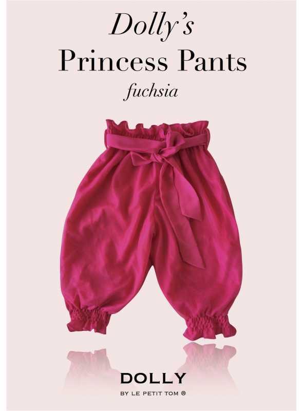 DOLLY princeznovské kalhoty – fuchsiové