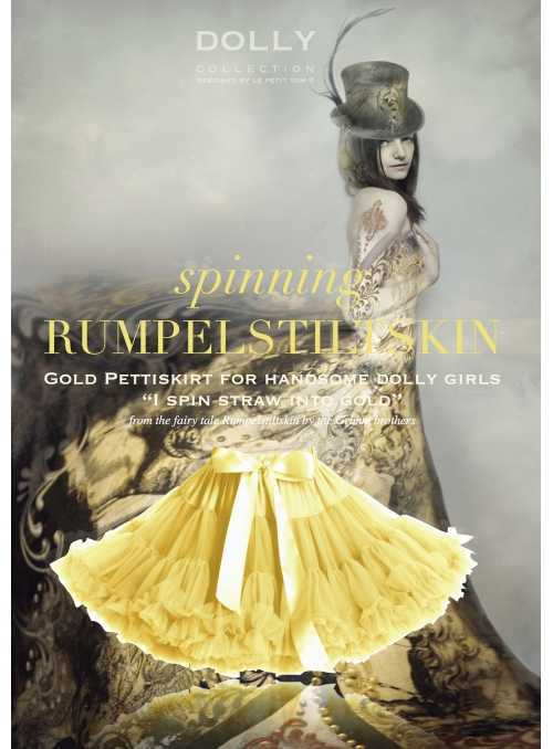 Yellowish DOLLY skirt RUMPELSTILTSKIN