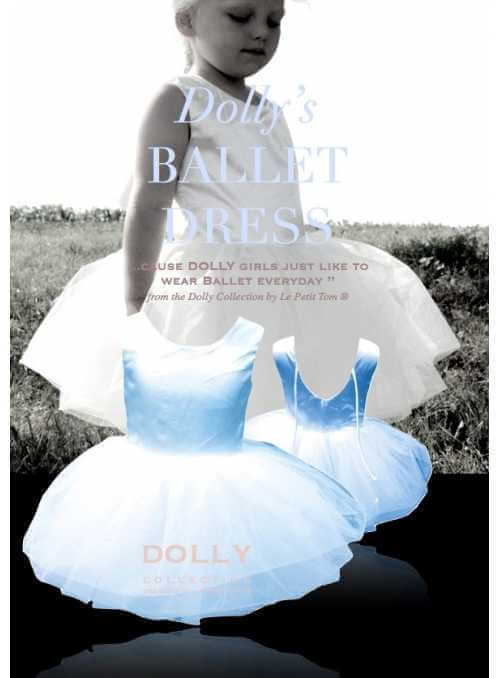 BALLET DRESS LIGHT BLUE