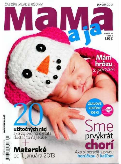 (1/2013-SK) Časopis MAMA a JA – foto pre tanečnú školu Mirky Kosorínovej, Bratislava
