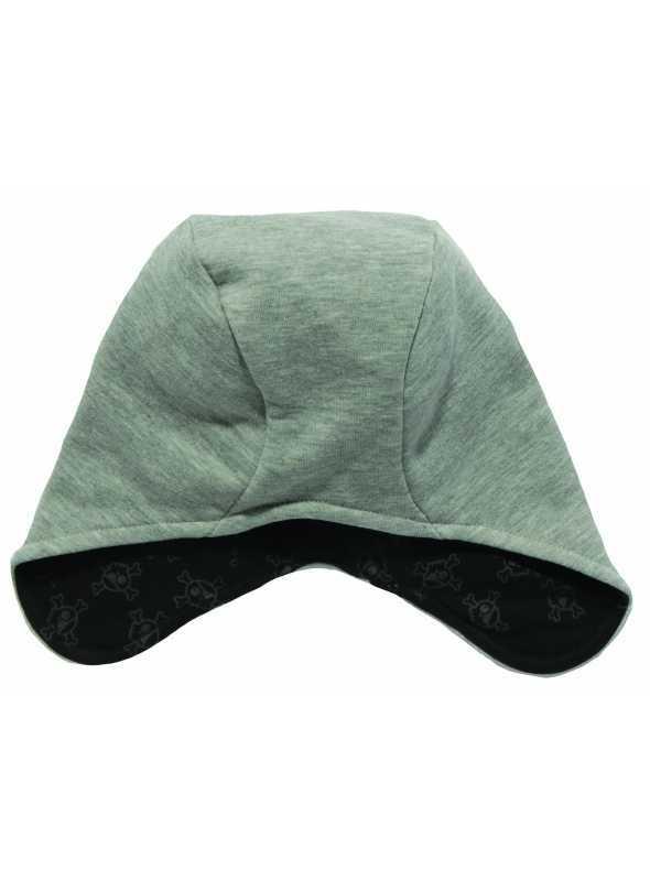 NUNUNU čepice šedá