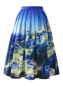 "Midi skirt ""Summer Santorini"""