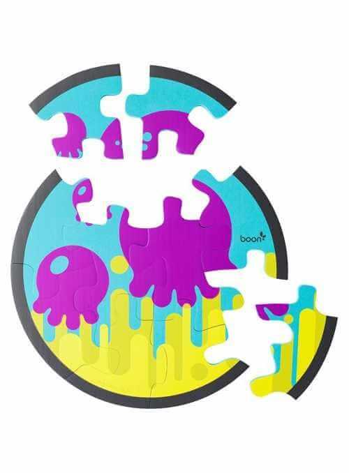 Vodné penové puzzle chobotinčky