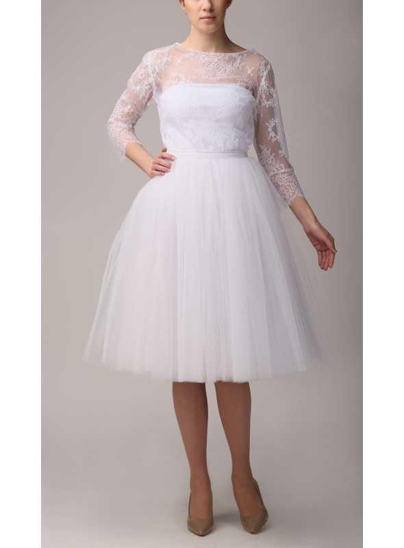 Tylová sukňa baletná ružová 72 cm