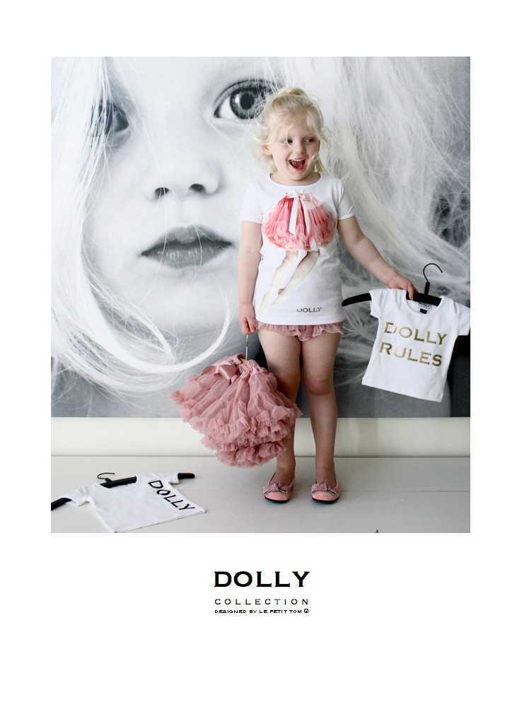 "ac0322fa80be DOLLY značkové tričko ""I am DOLLY"" - Dadoo"