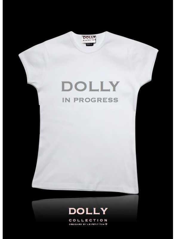 """DOLLY značkové tričko """"DOLLY in progress"""""""