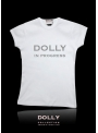 "DOLLY signature T-shirt ""DOLLY in progress"""