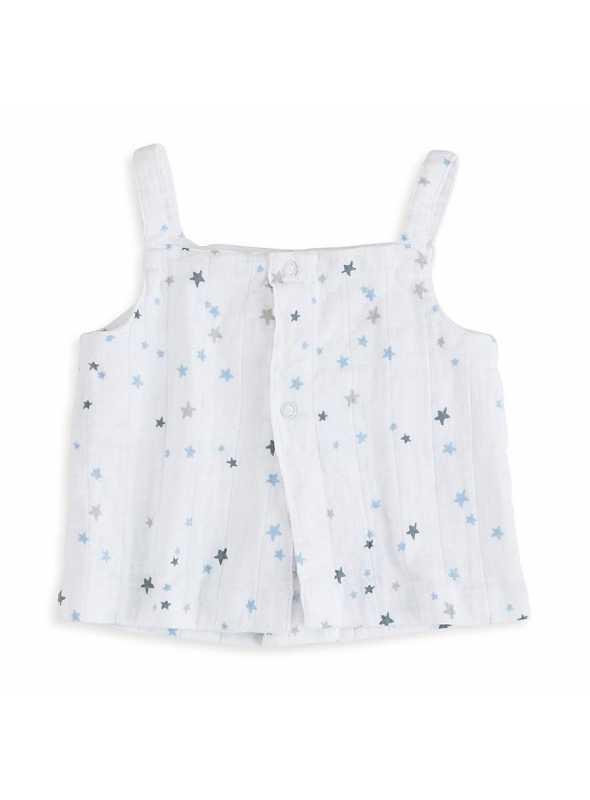 Strap blouse top Aden&Anais Night sky