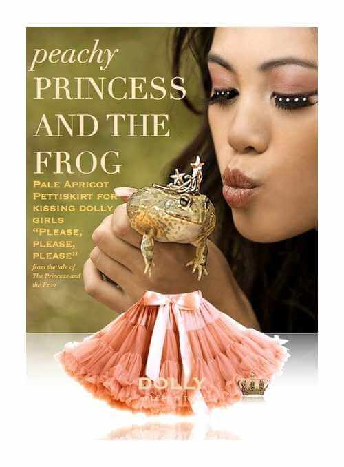 PRINCESS AND THE FROG Petti skirt