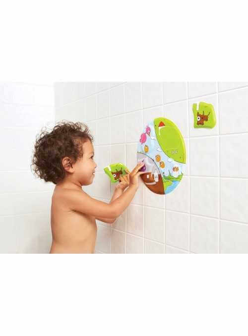 3D puzzle to the bathtub - Day with Monsters